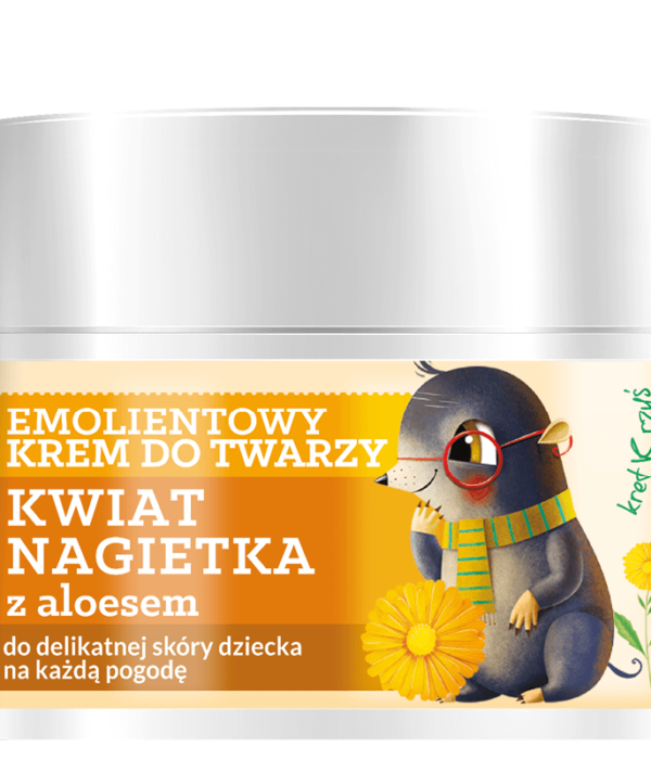 Herbal Care Kids Emolientowy krem do twarzy, 50ml2