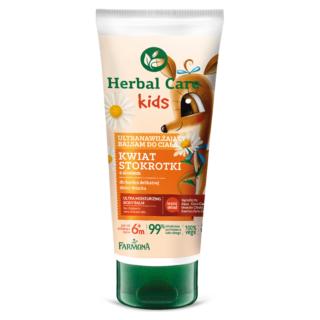 Herbal Care Kids Ultranawilżający balsam do ciała, 200ml