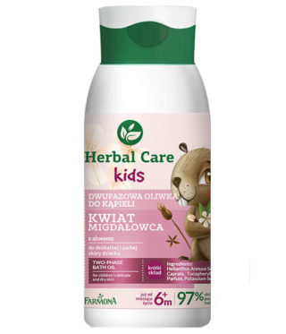 Herbal Care Kids Dwufazowa oliwka do kąpieli