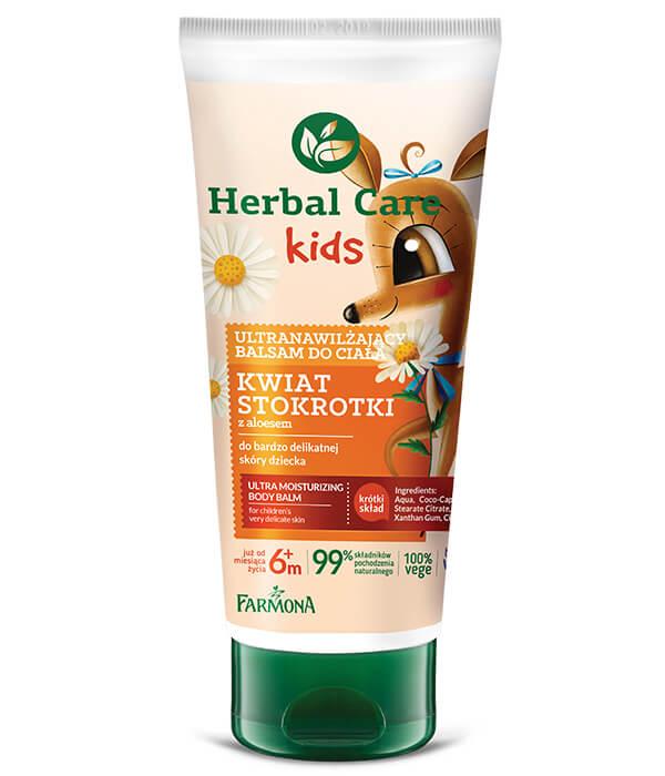 Herbal Care Kids Ultranawilżający balsam do ciała