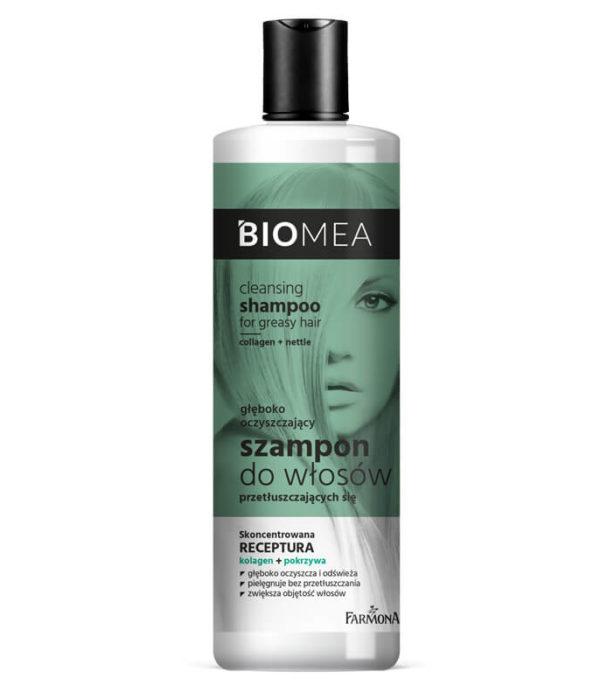 BIOMEA Szampon oczyszczający do włosów przetłuszczających się