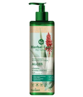 Herbal Care Nawilżające mleczko do ciała ALOES z betainą
