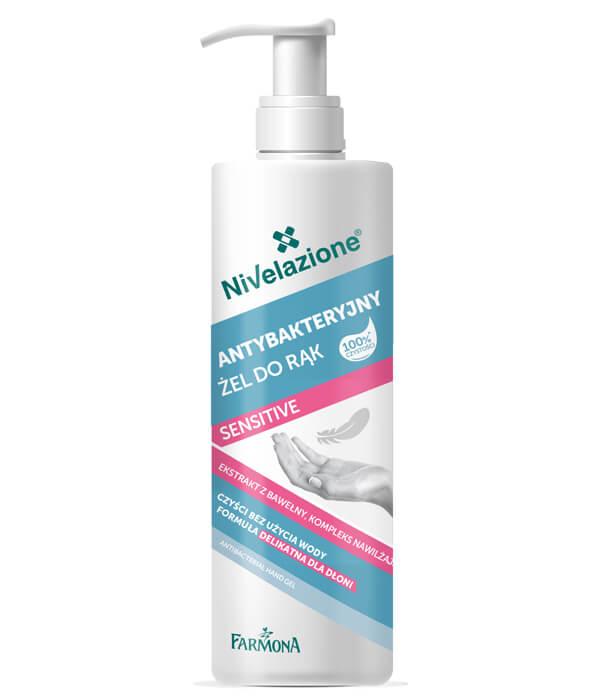 NIVELAZIONE Specjalistyczne mydło do rąk o właściwościach antybakteryjnych 250 ml