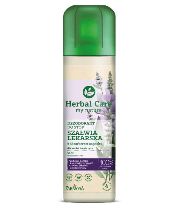 Herbal Care Dezodorant do stóp SZAŁWIA LEKARSKA 150ml