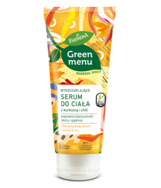 Green Menu Wyszczuplające serum do ciała z kurkumą z chili