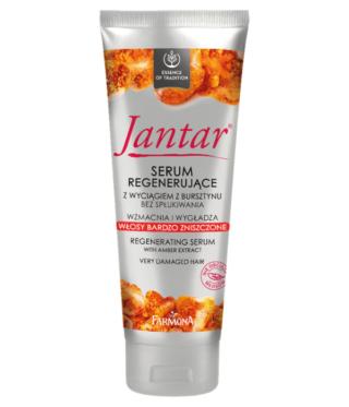 Jantar® Serum Regenerujące Z wyciągiem z bursztynu Bez spłukiwania