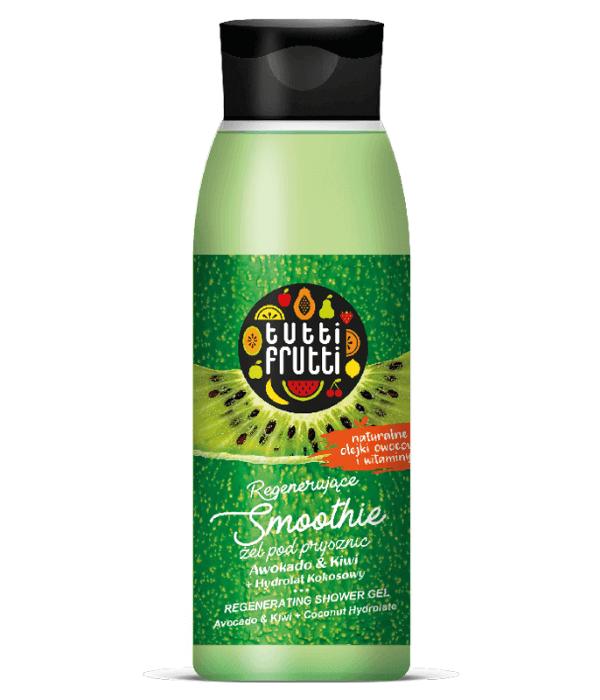 TUTT FRUTTI Regenerujące SMOOTHIE Żel pod prysznic Kiwi & Awokado & Hydrolat kokosowy