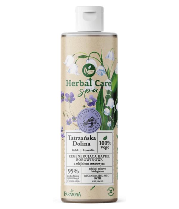 Herbal Care SPA Regenerująca kąpiel borowinowa TATRZAŃSKA DOLINA z olejkiem sosnowym, 400ml