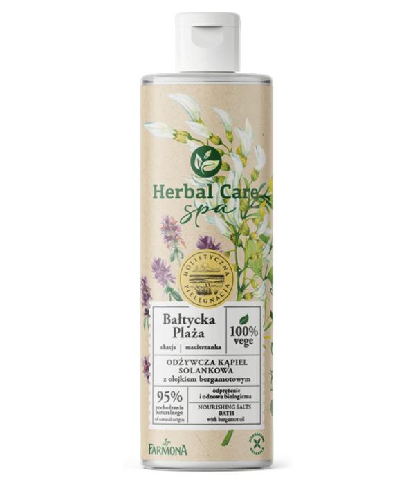 Herbal Care SPA Odżywcza kąpiel solankowa BAŁTYCKA PLAŻA z olejkiem bergamotowym 400ml